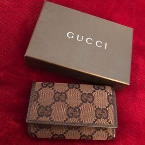 Authentic Gucci Key Case Wallet